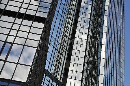 fachada de vidro em frankfurt