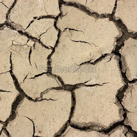 solo aridez emergencia seca rachaduras secou