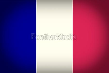 azul vintage franca bandeira oficialmente vindimas