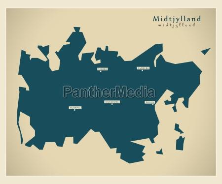 mapa moderno midtjylland dk