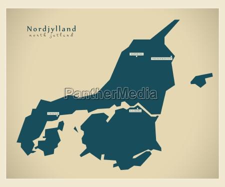 mapa moderno nordjylland dk