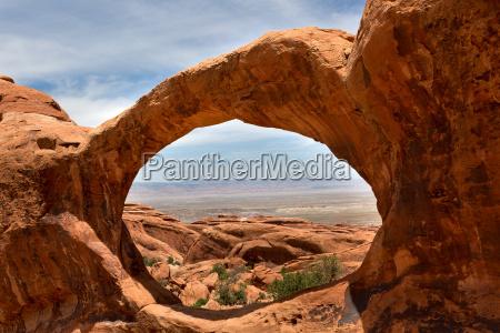 paisagem vista atraves de superior double