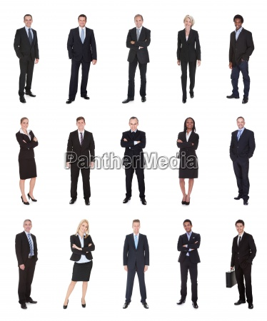 business people managers executives