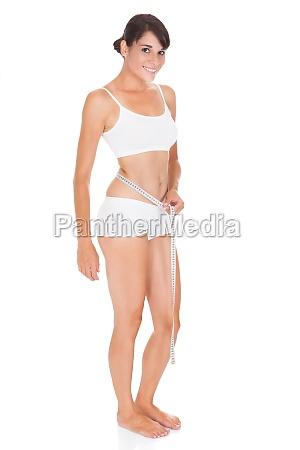 mulher liberado isolado peso treinamento exercicio