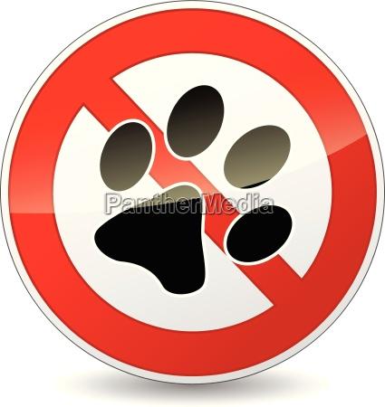 vector sem animais de estimacao assinar