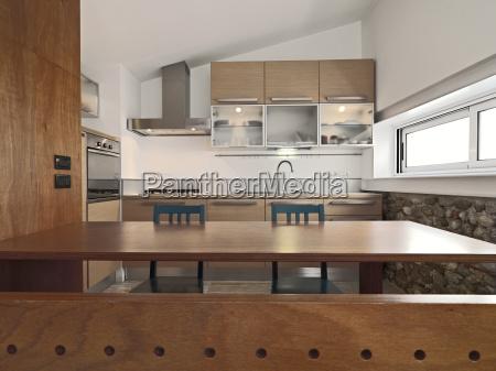 uma cozinha moderna