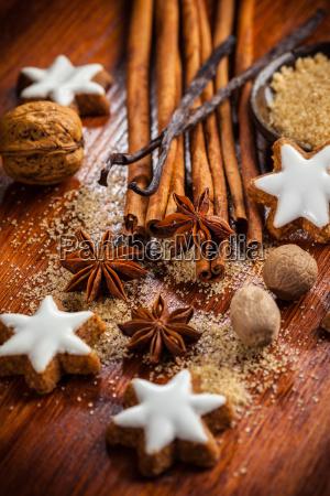 ingredientes de panificacao e especiarias