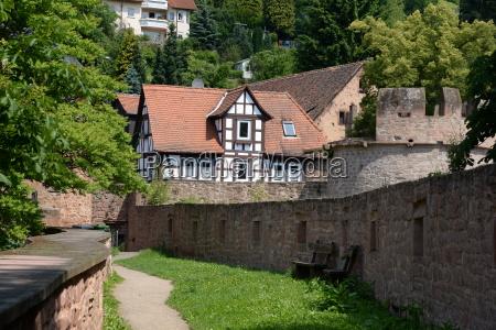 torre historico cidade velha trelica alemanha