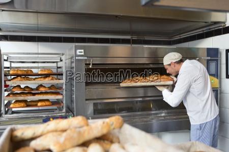 baker verificacao da bandeja de pao