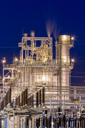 industria industrial poder eletrico fabrica gas
