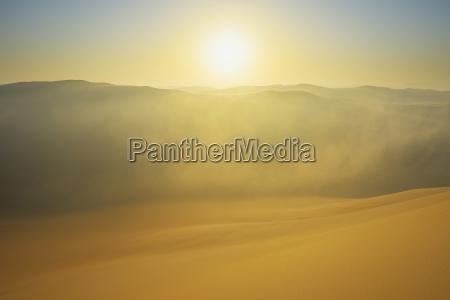 topo horizonte deserto por do sol