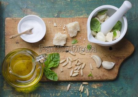 sal interior especia especias vegetal aceite