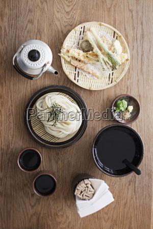 natureza morta alimento cha asia cozinha