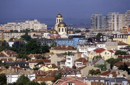 cidade europa olhar vista bulgaria