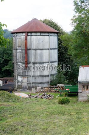 agricultura fazenda ferro ondulado alemanha prado