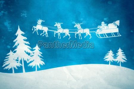azul do natal