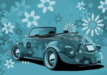 conduzir azul viajar estilo de vida