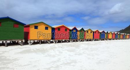 colorido praia beira mar da praia