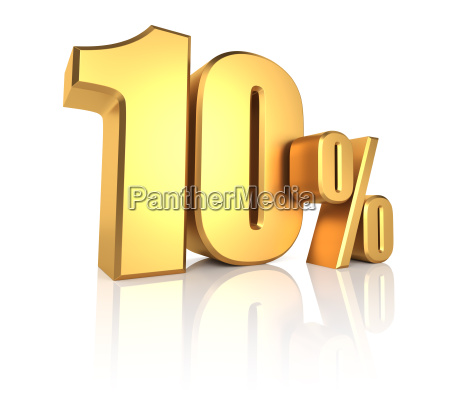 ouro 10 por cento