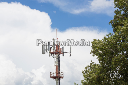torre telefone movel comunicacao antena apalpador