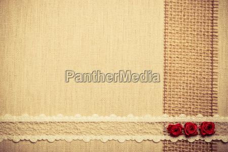 quadro de rosas de seda vermelhas