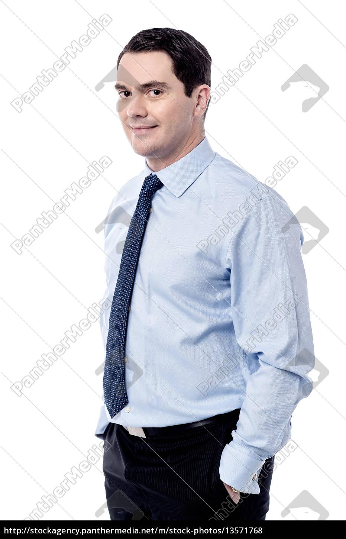 eu, sou, o, novo, gerente, aqui. - 13571768
