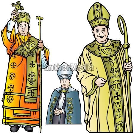 religiao pastor bispo monge cristandade padre