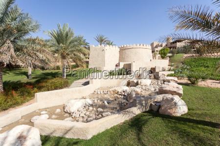 desert oasis resort in the emirate
