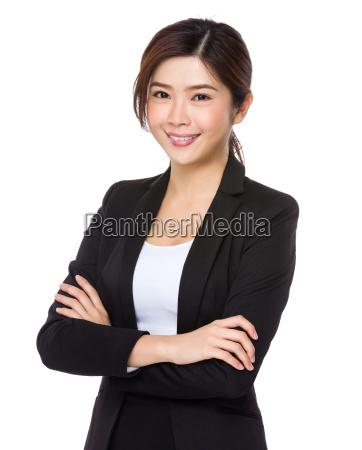 mulher de negocios nova