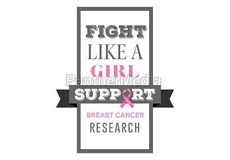 luta combate pesquisa poster mensagem conscientizacao