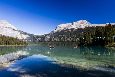 emerald lake parque nacional de yoho