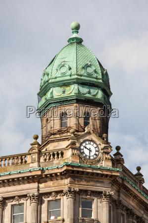telhado de cobre neoclassicismo