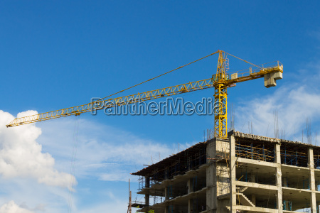 tower crane wide screen e arranha