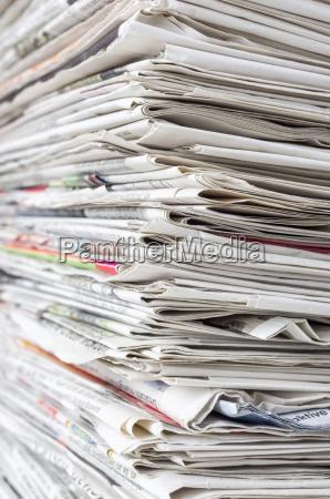 jornal tageblatt jornais pilha imprensa revistas