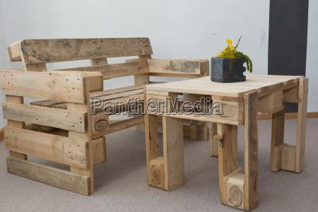bancada robusta e mesa de paletes