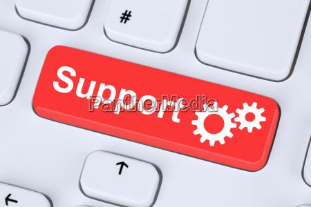 apoio ajuda servico na internet