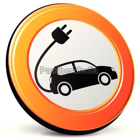 icone do carro eletrico