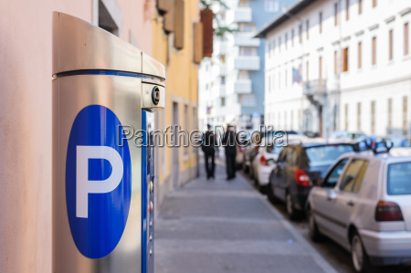 estacionamento da maquina