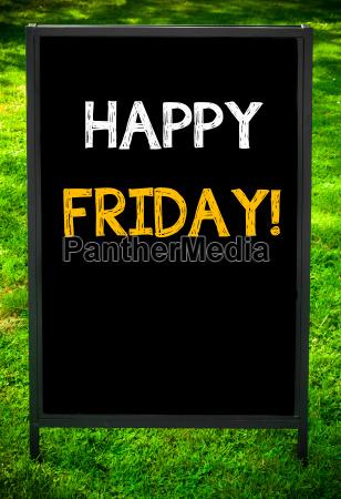 feliz sexta feira