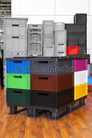 caixas e caixotes
