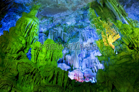 caverna turista china cavernas flauta