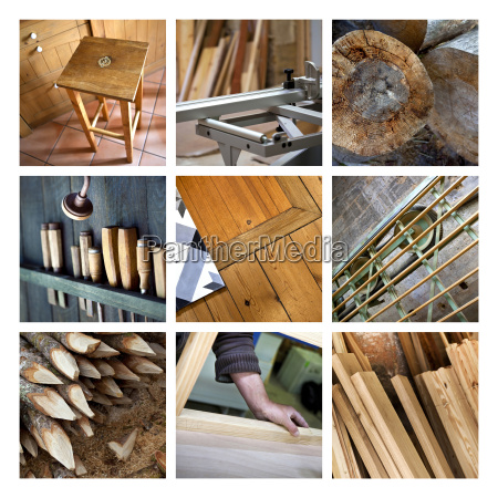 madeira e marcenaria
