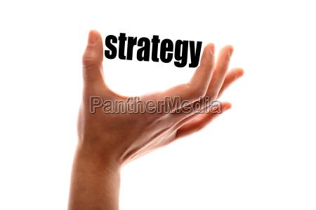 estrategia com sucesso bem sucedido dedo