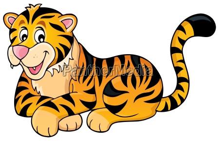 imagem 1 do tema do tigre