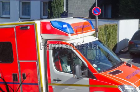 ambulancia de emergencia