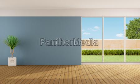 sala de estar vazia