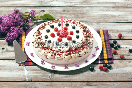 doce creme bolo caloria framboesas diversao