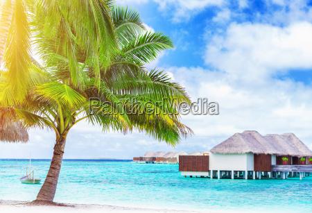 paisagem da praia do paraiso
