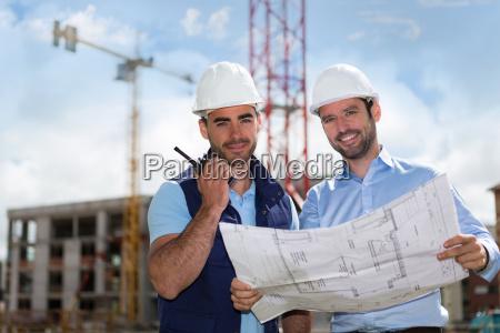 olhar do engenheiro e do trabalhador