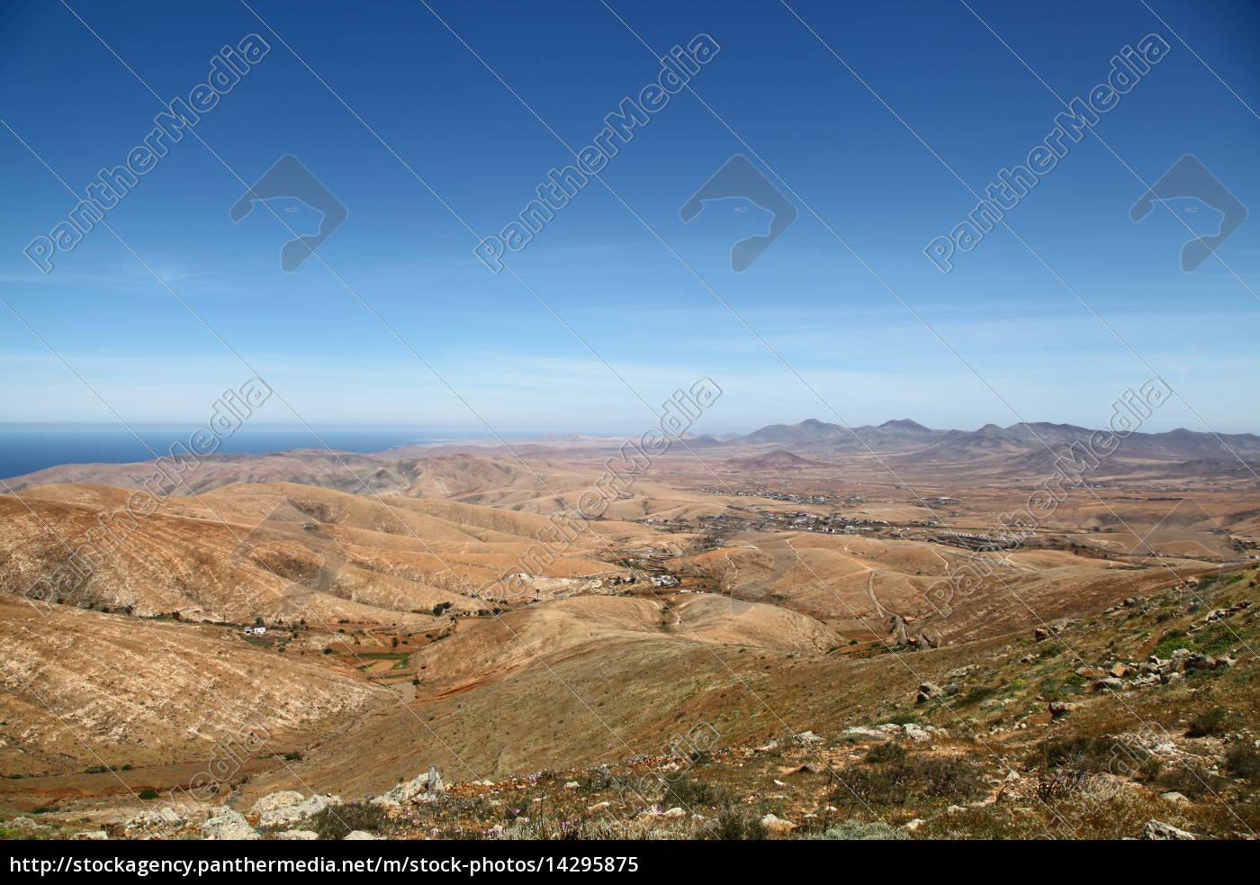 topo, montanhas, canário, paisagem, natureza, canárias - 14295875